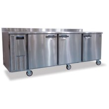 Refrigerator, Three Section Worktop