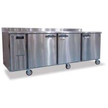 Refrigerator, Three Section Worktop