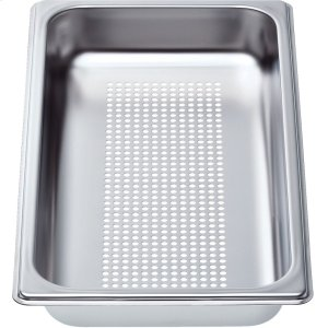 """BOSCHPerforated cooking pan - half size, 1 5/8"""" deep"""