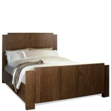 Terra Vista - Full/queen Panel Headboard - Casual Walnut Finish