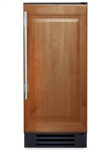 15 Inch Overlay Solid Door Wine Cabinet - Left Hinge Overlay Solid