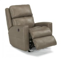 Catalina Leather Power Rocking Recliner
