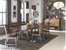 Dining Bench with Back Product Image