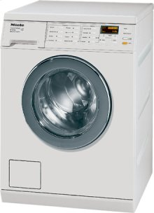W3000 Series Washing Machines Model: W3033 ™. 2.52 ft 3 capacity (IEC equivalent). Stainless steel Honeycomb TM wash drum. Advanced Touchtronic Controls. Display function. 24-hour delay start. Digital program countdown display. Fault indicators. Child lock feature. Self diagnostics. PC update function. Interior light. Cast iron cradle. Hydraulic suspension. 139 kWh consumption per year. 110  volts.