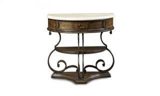 Continental Nightstand - Weathered Nutmeg/Glazed