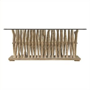 Coastal Living Resort - Driftwood Flats Cocktail Table In Weathered Pier