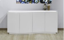 White Lacquer Contemporary Buffet