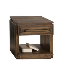 Modern Gatherings Side Table Brushed Acacia finish