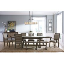 Saw Buck Dining Table