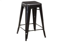 Pinnadel Counter Height Stool, Grayish Brown