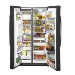 Ge(r) 25.1 Cu. Ft. Side-By-Side Refrigerator