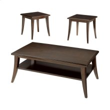 3 Pack - Cocktail & 2 End Tables