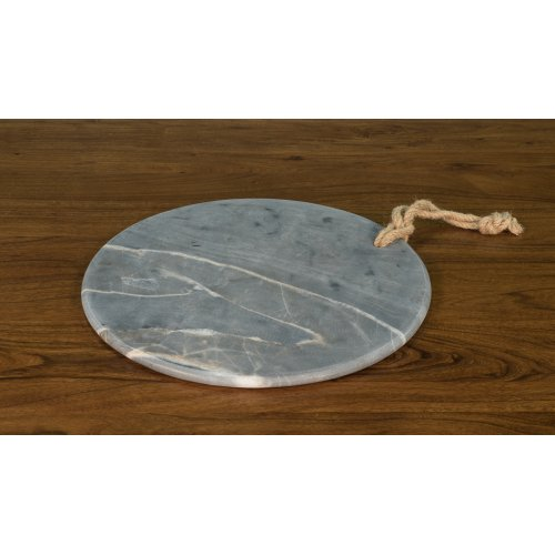 """Marly 16"""" Diameter Marble Plate"""