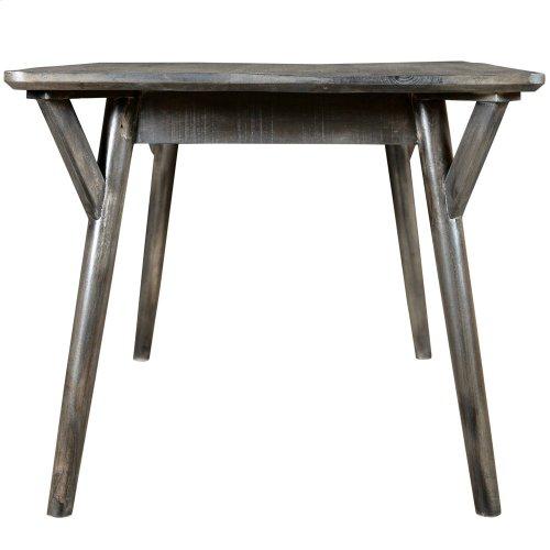 Mira Rectangular Dining Table in Distressed Grey