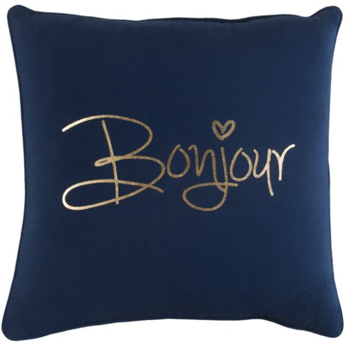 """Glyph GLYP-7111 18"""" x 18"""" Pillow Shell with Polyester Insert"""