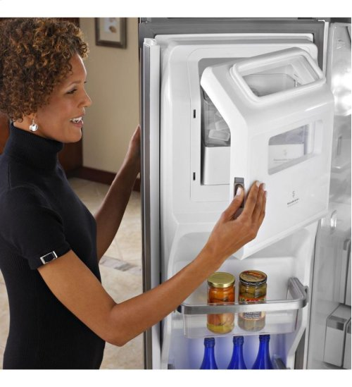27 Cu. Ft. Standard-Depth French Door Refrigerator, Architect® Series II - Monochromatic Stainless Steel