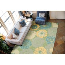 Home & Garden Rs021 Gre Rectangle Rug 10' X 13'