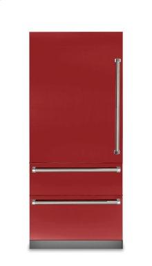 "36"" Fully Integrated Bottom-Freezer Refrigerator, Left Hinge/Right Handle"