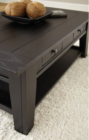 """Liberty Chairside End Table Antique Black, 13""""x28""""x24"""""""