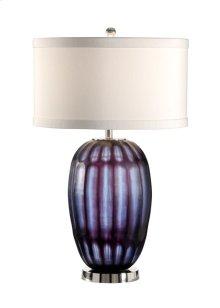 Block Cut Crystal Lamp