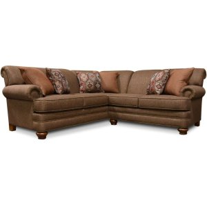 England Furniture5Q00N-Sect Reed Sectional with Nails