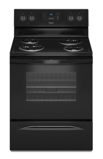 Whirlpool(R) 4.8 Cu. Ft. Freestanding Counter Depth Electric Range