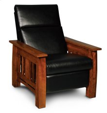 Aspen Recliner, Leather Cushion Seat