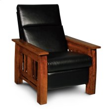 Aspen Recliner, Leather Cushion Seat