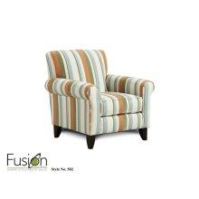 502 - Chair - Ocean Isle Tangerine