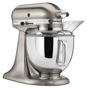 Custom Metallic® Series 5 Quart Tilt-Head Stand Mixer - Brushed Nickel