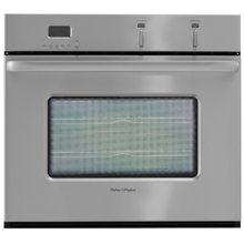 Brushed Stainless Steel Single Oven Built In Oven