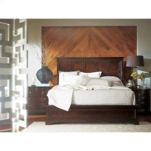 Transitional Panel Bed - Polished Sable / Queen