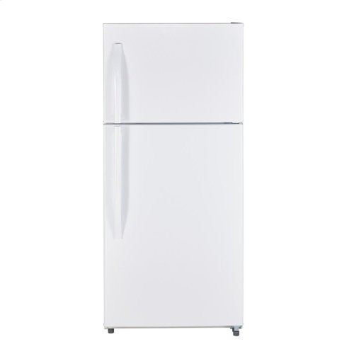 MTE18GTKWW - White on White Moffat 18 Cu. Ft. Top-Freezer No-Frost Refrigerator