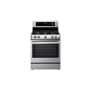 LG Appliances6.3 cu. ft. Gas Single Oven Range with ProBake Convection(R) and EasyClean(R)