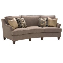 Melrose Fabric Conversation Sofa