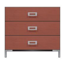 "36"" 3-Drawer Bedside Chest"