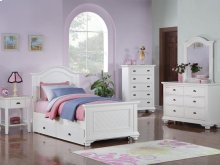 BP777NSW Brook Youth White Nightstand