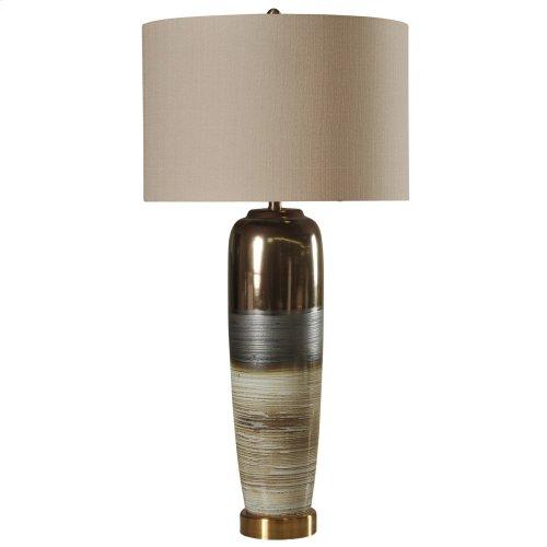 Morganton  Transitional Ceramic & Metal Base Table Lamp