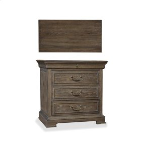 St. Germain Three Drawer Nightstand