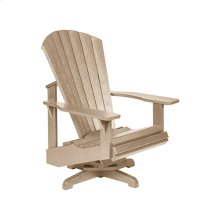 SWIVEL ADIRONDACK *WHITE ONLY*