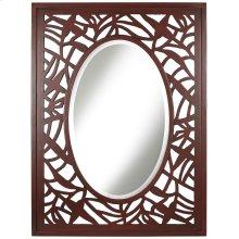 Beach Leaf Mirror