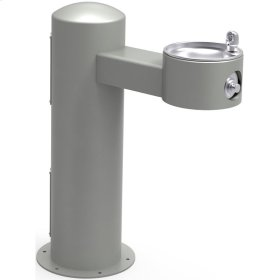 Elkay Outdoor Fountain Pedestal Non-Filtered, Non-Refrigerated Freeze Resistant Gray