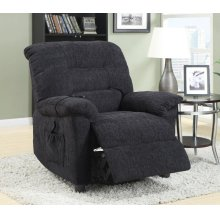 Casual Dark Grey Power Lift Recliner