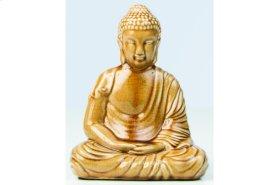 Honey Ceramic Peaceful Buddha
