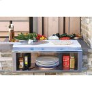 "30"" PLATE & GARNISH RAIL W/ FOOD PANS Product Image"