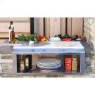 "30"" PLATE & GARNISH RAIL W/ FOOD PANS Product Image"