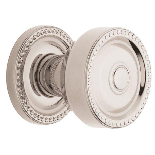 Polished Nickel with Lifetime Finish 5065 Estate Knob