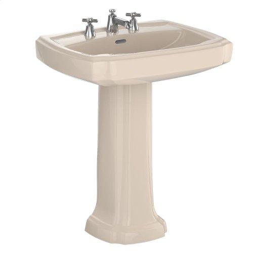 "Guinevere® 27"" Pedestal Lavatory - Bone"