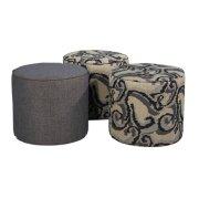 Round Occ. Ottoman Product Image