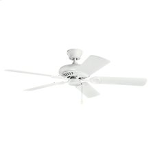 "Sutter Place 52"" Collection 52"" Sutter Place Ceiling Fan MWH"